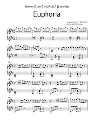 Download BTS(방탄소년단)-Euphoria_PIANOCOVER Sheet Music By BTS