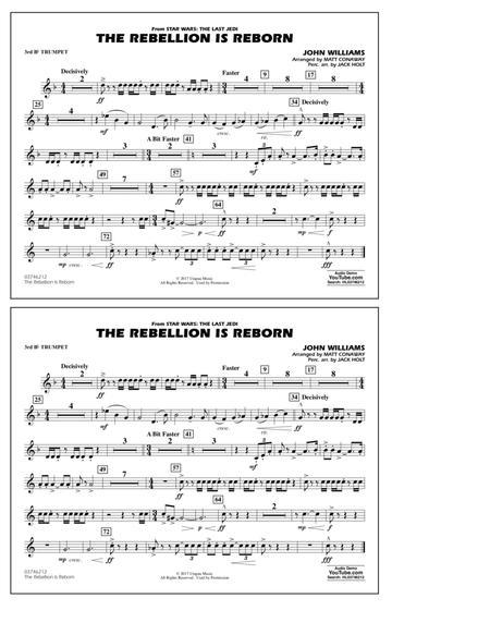 The Rebellion Is Reborn - 3rd Bb Trumpet