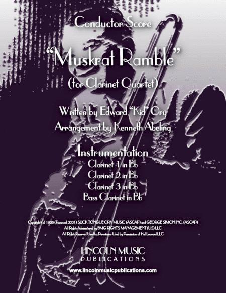 Muskrat Ramble (for Clarinet Quartet)