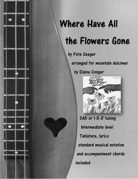 Download Where Have All The Flowers Gone? Sheet Music By Pete Seeger ...