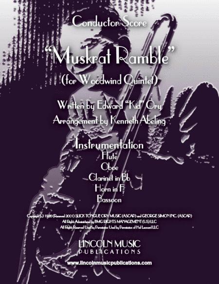 Muskrat Ramble (for Woodwind Quintet)