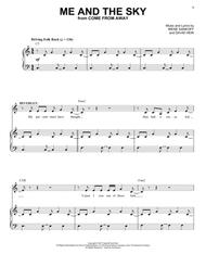 Download Me And The Sky (from Come From Away) Sheet Music - Sheet