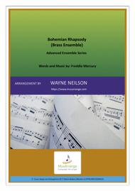 Bohemian Rhapsody for Brass Ensemble (Advanced Ensemble Series)