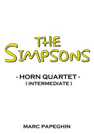The Simpsons Theme // French Horn Quartet ( intermediate level )