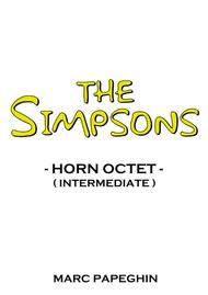 The Simpsons Theme // French Horn Octet ( intermediate level )