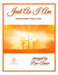 Just As I Am (Intermediate  Piano Solo)