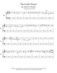 Download The Lord's Prayer (Easy Key Of C) - Piano Sheet