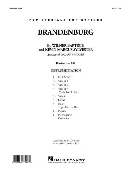 Preview Brandenburg - Conductor Score (Full Score) By Black