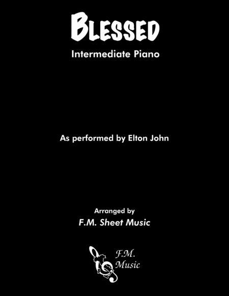 Blessed (Intermediate Piano)