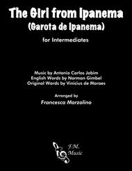 The Girl From Ipanema (Garota De Ipanema) (Intermediate Piano)