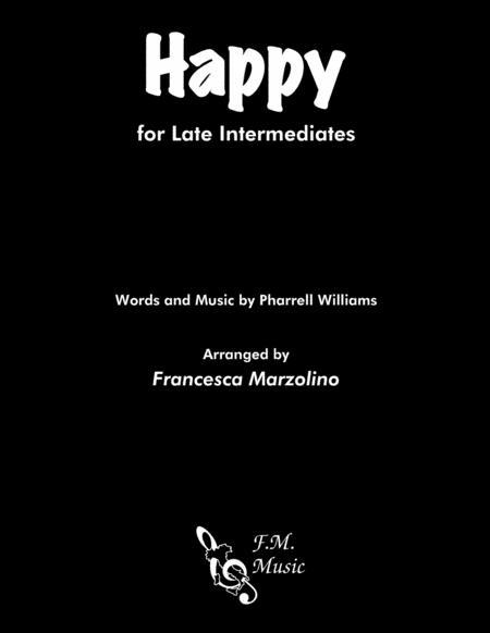 Happy (Late Intermediate Piano)
