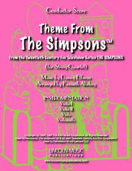 Theme From The Simpsons TM  from the Twentieth Century Fox Television Series THE SIMPSONS (for String Quartet)