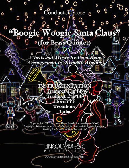 Boogie Woogie Santa Claus (for Brass Quintet)