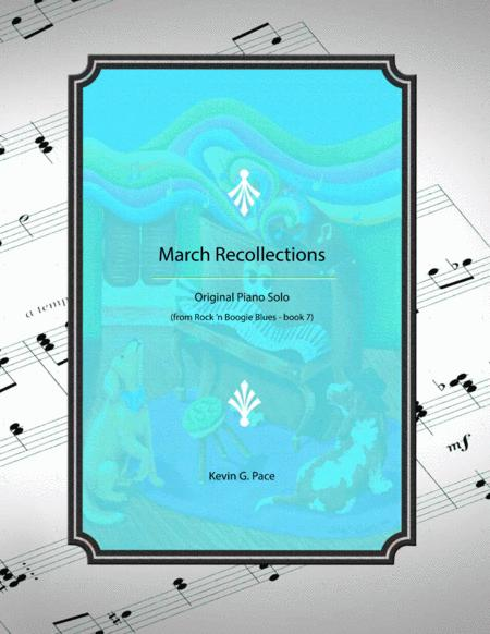 March Recollections - original piano solo