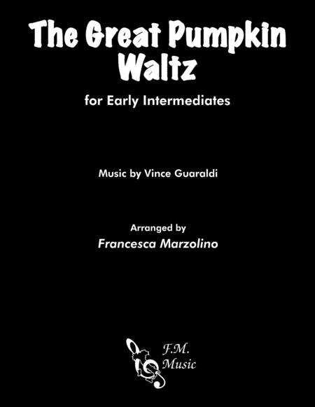 The Great Pumpkin Waltz (Early Intermediate Piano)