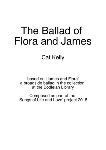 The Ballad of Flora and James