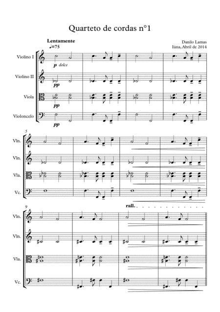 String Quartet nº1