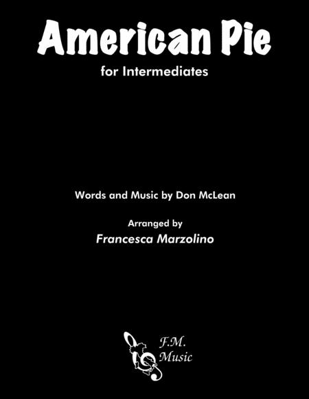 American Pie (Intermediate Piano)