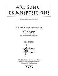 Czary (F minor)