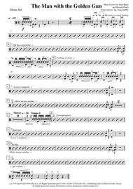 The Man With The Golden Gun (Drum set, transcription of original recording for James Bond)