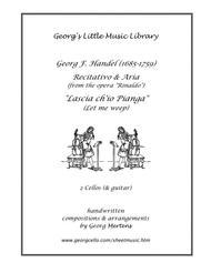 Handel - Recitativo & Aria