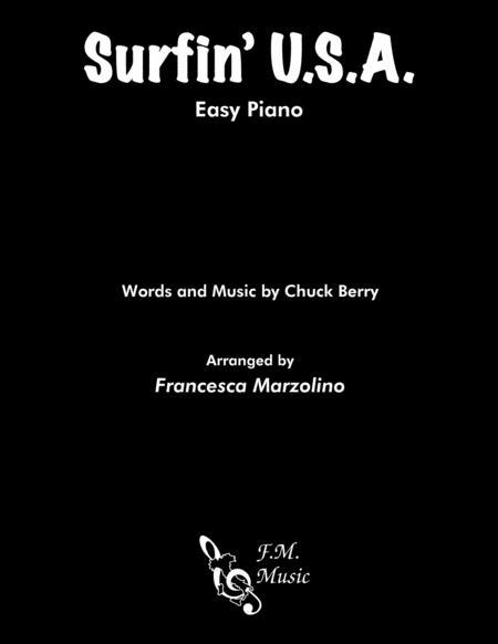 Surfin' U.S.A. (Easy Piano)