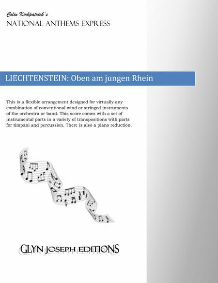 Liechtenstein National Anthem: Oben am jungen Rhein