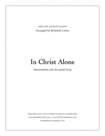 In Christ Alone - for solo lever or pedal harp