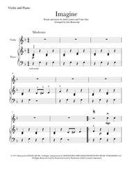 Imagine (Violin & Piano)