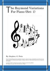 The Raymond Variations for Piano (Set 1)