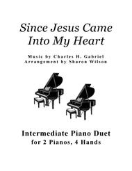 Since Jesus Came into My Heart (2 Pianos, 4 Hands Duet)