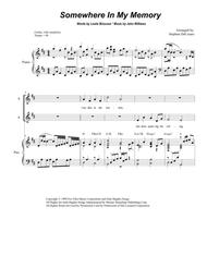 Somewhere In My Memory (for SATB)