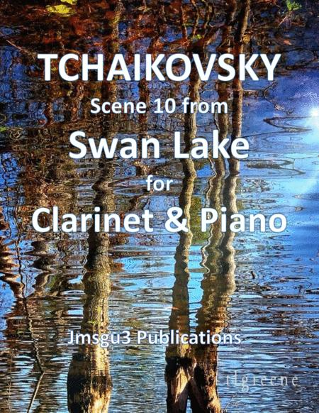 Tchaikovsky: Scene 10 from Swan Lake for Clarinet & Piano