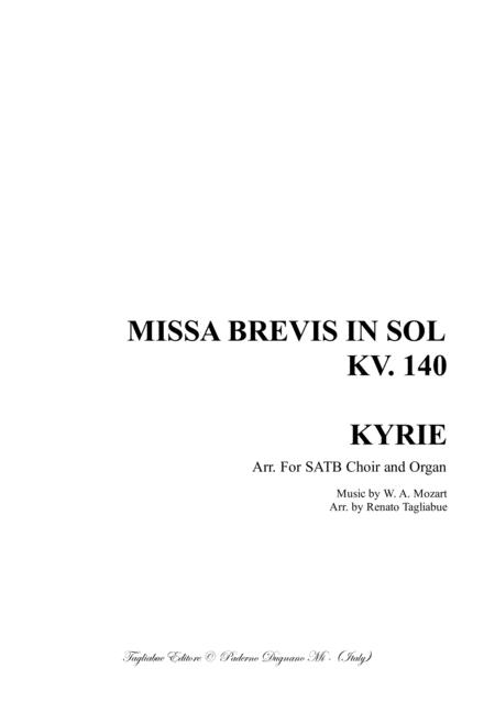 MISSA BREVIS in G major - KV 140 - 1 KYRIE
