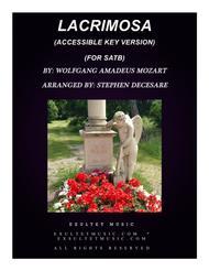 Lacrimosa (Accessible Key Version - SATB)