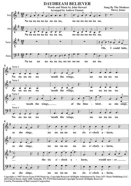 Daydream Believer A Cappella
