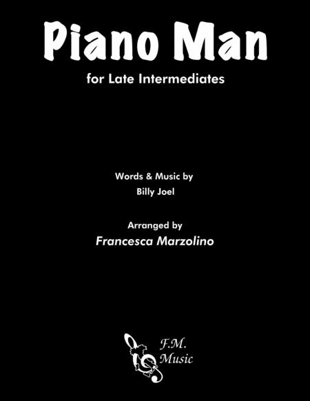 Piano Man (Late Intermediate Piano)