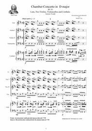 Download Vivaldi - Chamber Concerto In D Major RV 93 For