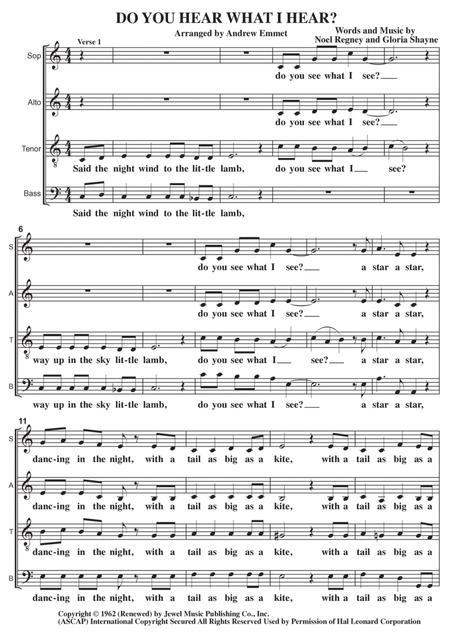 Do You Hear What I Hear A Cappella
