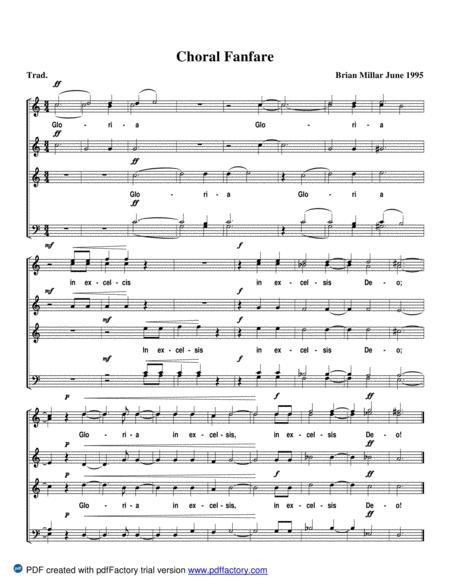 Choral Fanfare