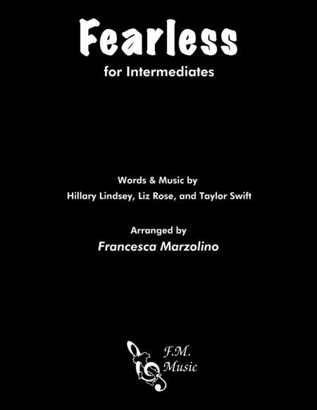 Fearless (Intermediate Piano)