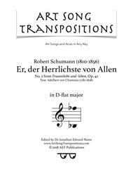 Er, der Herrlichste von Allen, Op. 42 no. 2 (D-flat major)