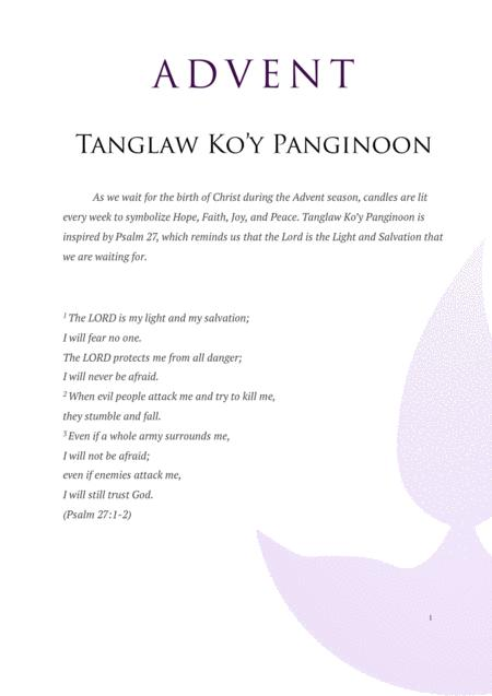 Preview Tanglaw Ko'y Panginoon - Tagalog Advent Song By Airom Cruz