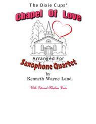 Chapel Of Love (Sax Quartet)