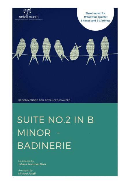 Suite No.2 in B Minor –  Badinerie