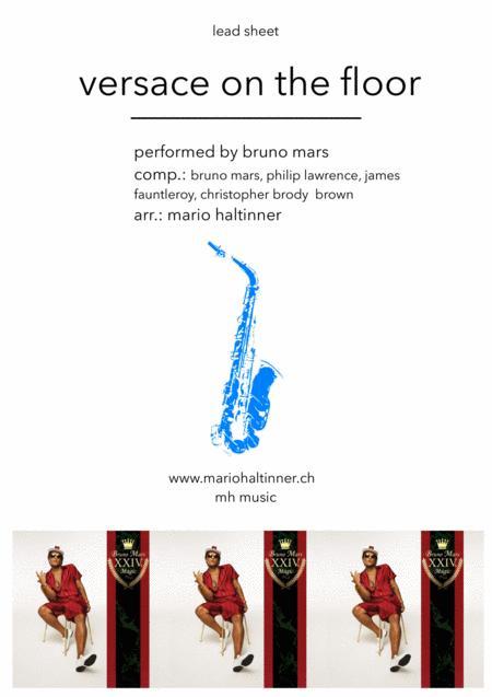 Versace On The Floor - Bruno Mars - Tenor Sax