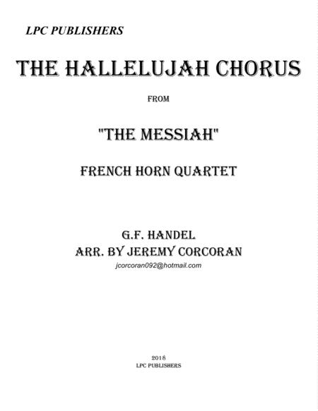 The Hallelujah Chorus for French Horn Quartet