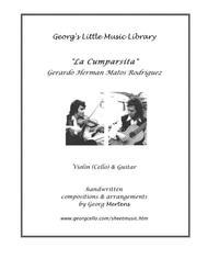 La Cumparsita arr. for violin or cello & guitar