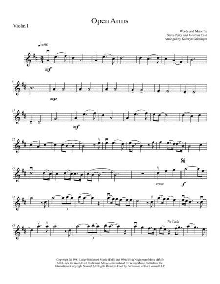 Open Arms - String Quartet