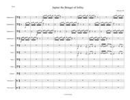 Jupiter from The Planets arranged for tuba ensemble with percussion
